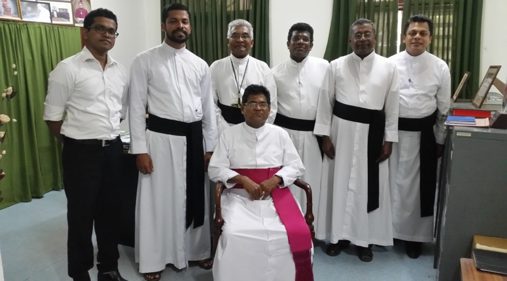 SLUCSM- Meeting Chaplian & Patron Bishop
