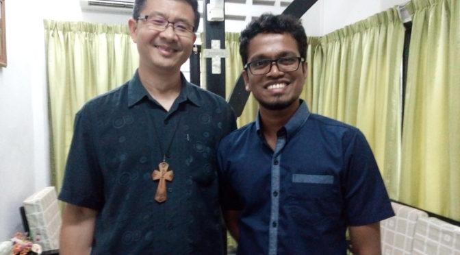 Meeting with Malaysian Bishop