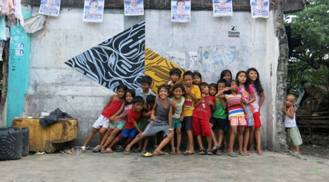 Abstract Art – Voice for the Urban Poor in the form of Art in Metro Manila, Philippines