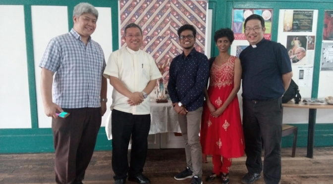 IMCS Asia Pacific Coordination Meeting with the Malaysian Catholic youth ministry