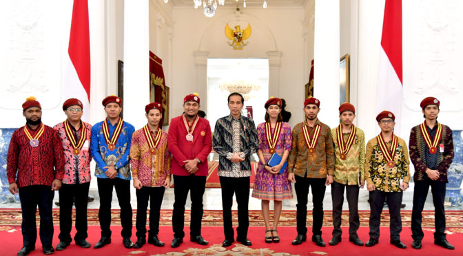 PMKRI meet Indonesian President