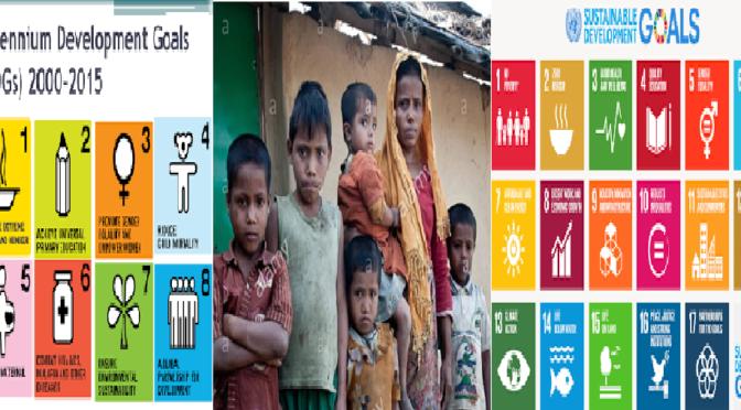 Rohingya between MDGs and SDGs